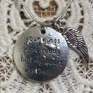 ❤️ Memorial Necklace With Charms To Loved One